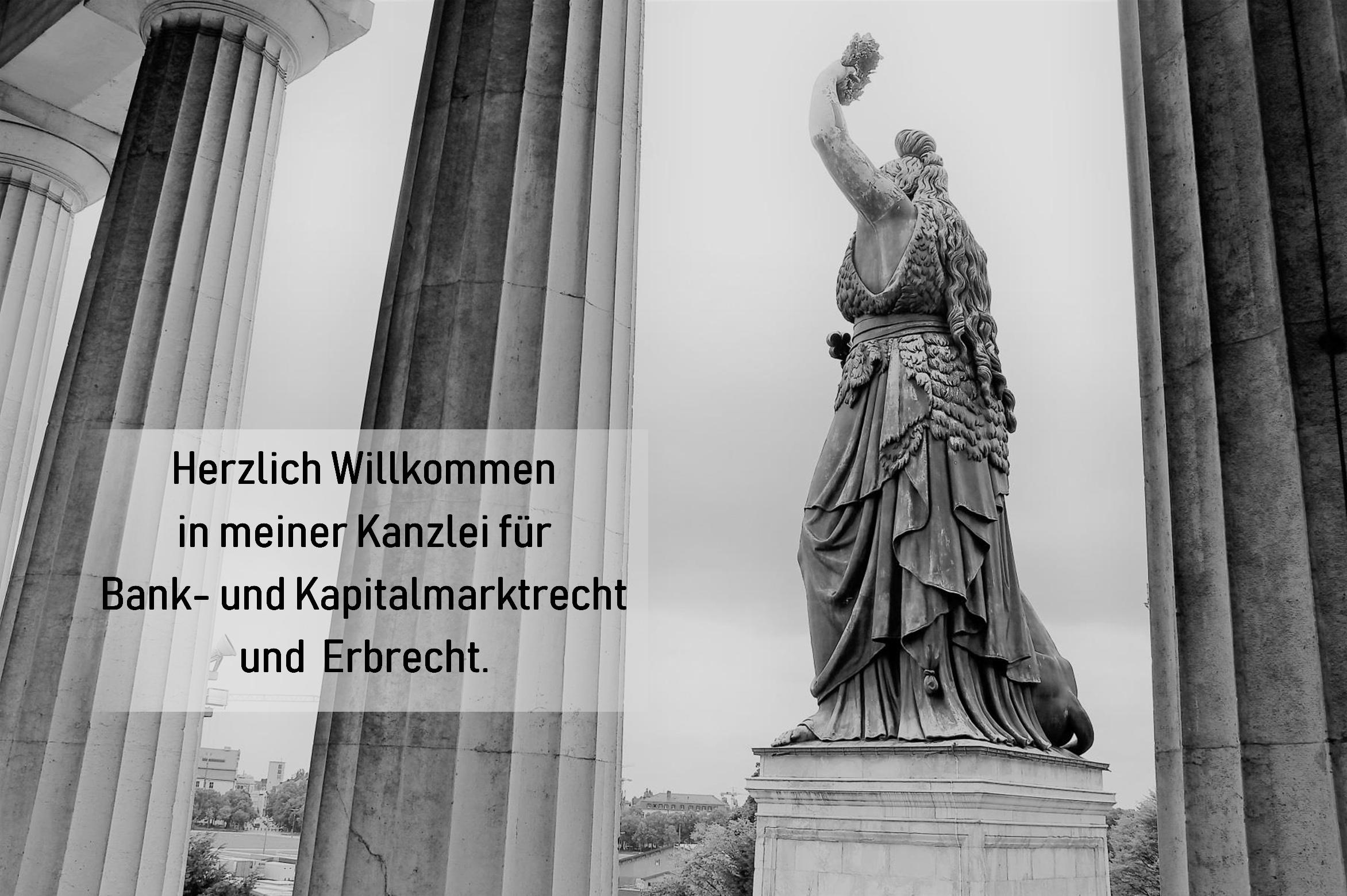 Kanzlei für Bank- und Kapitalmarktrecht und Erbrecht in München - Fachanwältin Eva Lilian Brehm